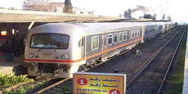 استئناف تسيير القطارات بين طرطوس واللاذقية لطلاب التعليم المفتوح أيام الجمعة اعتباراً من 10 تموز الجاري