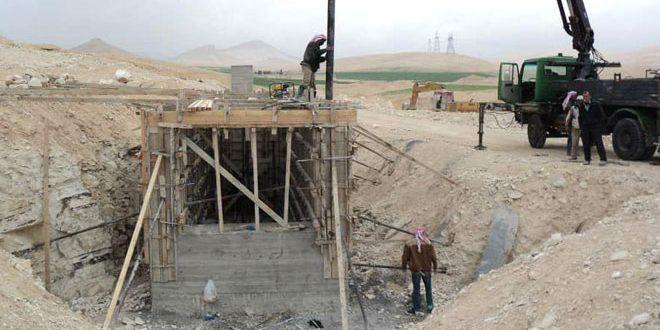 497 مليون ليرة قيمة الأعمال التي نفذتها شركة المشاريع المائية في حمص