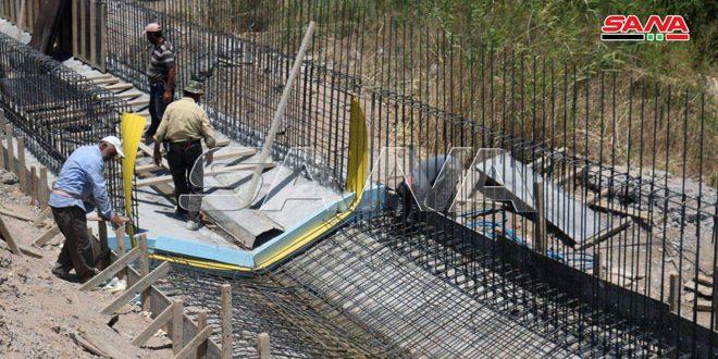 تنفيذ المرحلة الثالثة من مشروع تأهيل الخط الرئيسي للصرف الصحي بدير الزور