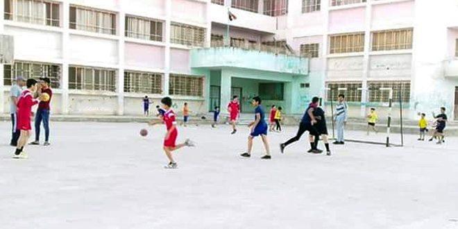 عشرة مراكز رياضية في درعا لتدريب الأطفال على مهارات رياضية مختلفة