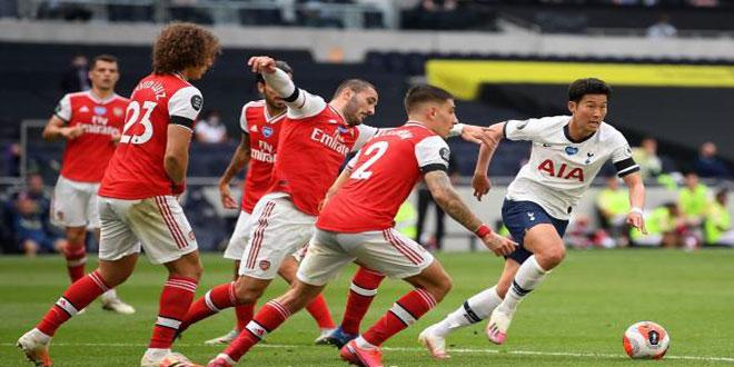 توتنهام يهزم أرسنال في الدوري الإنكليزي الممتاز