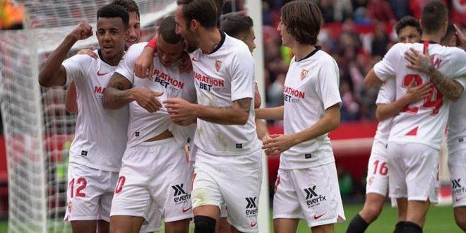 إشبيلية يفوز على ضيفه إيبار في الدوري الإسباني لكرة القدم