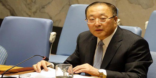 الصين تجدد دعوتها إلى رفع الإجراءات القسرية الأحادية الجانب المفروضة على سورية