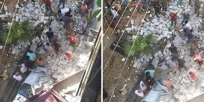 وفاة امرأة وإصابة 3 أشخاص آخرين نتيجة حادث سير في قدسيا بريف دمشق