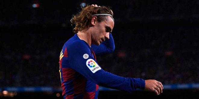 إصابة غريزمان تبعده عن الدوري الإسباني