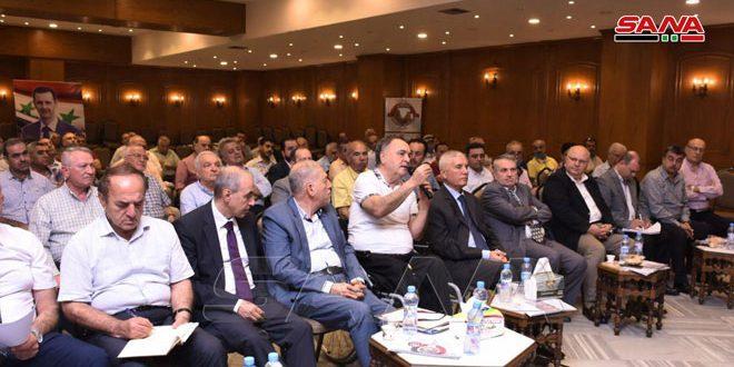 أعضاء غرفة تجارة حلب: تحديث القوانين والتشريعات التجارية لتسهم بتطوير النشاط الاقتصادي