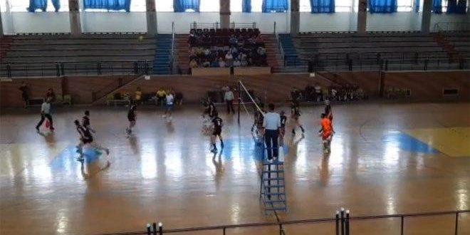 سلمية يتغلب على الوحدة في دوري الكرة الطائرة