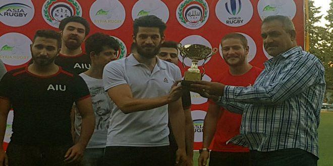 فريق زنوبيا بطلاً للدوري السوري للركبي
