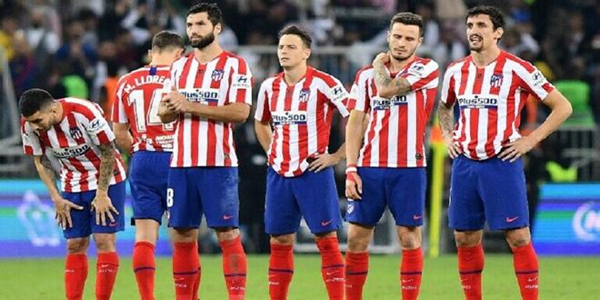 أتلتيكو مدريد يكشف أسماء لاعبيه المصابين بكورونا