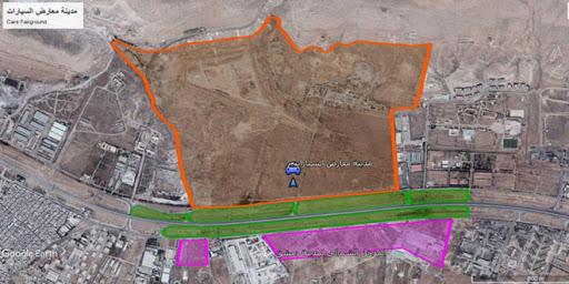 إنجاز المخطط التنظيمي لمشروع مدينة معارض السيارات في منطقة الدوير