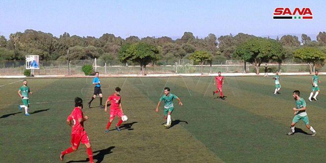 التضامن والحرية يفوزان على شرطة حماة وعفرين في دوري الدرجة الأولى لكرة القدم