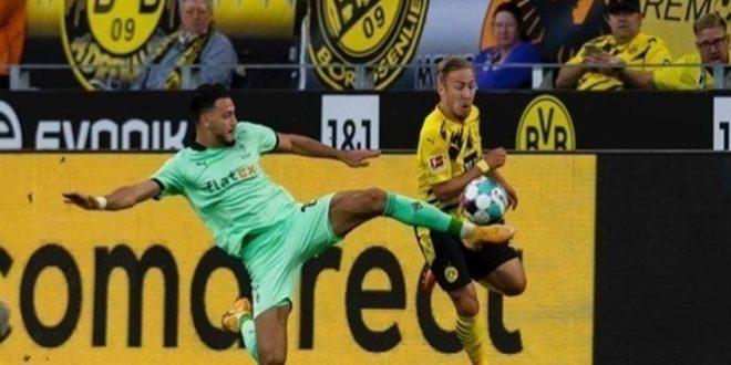 دورتموند يفوز على مونشنغلادباخ في الدوري الألماني لكرة القدم