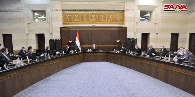 تحديد الاعتمادات الأولية لمشروع الموازنة العامة للدولة لسنة 2021 وتوجهات الإنفاق بـ 8500 مليار ليرة