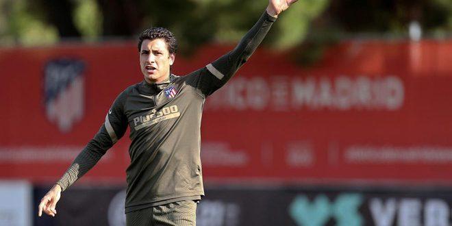 إصابة لاعب أتلتيكو مدريد الإسباني بفيروس كورونا