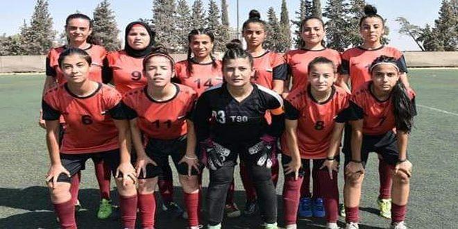 فريق شرطة حماة بكرة القدم للسيدات يختتم معسكره التدريبي استعداداً للدوري