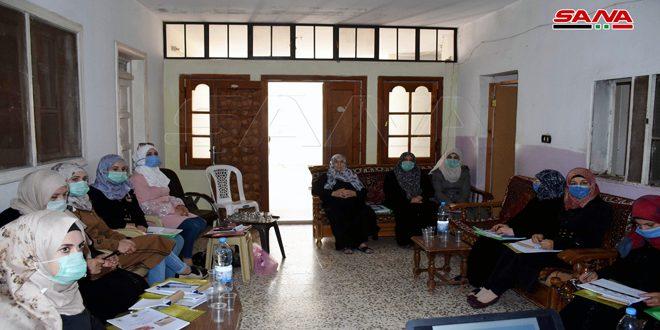 50 مستفيدة في ريف حمص من منحة وحدات التصنيع الغذائي
