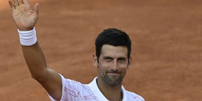 ديوكوفيتش يحصد لقبه الخامس في بطولة إيطاليا المفتوحة