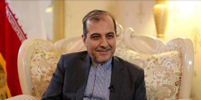 إيران: على قوات الاحتلال الأمريكي الخروج من سورية