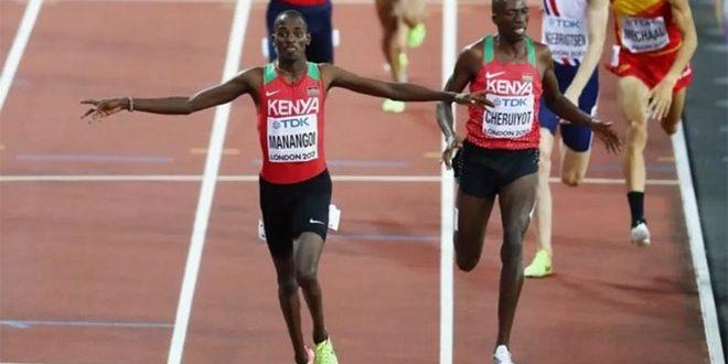 إيقاف العداء الكيني سيلي بسبب هروبه من مفتشي المنشطات