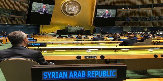 الجمعية العامة للأمم المتحدة تفتتح أعمال الأسبوع رفيع المستوى تحت عنوان (المستقبل الذي نصبو إليه والأمم المتحدة التي نحتاجها)