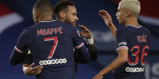 تألق باريس سان جيرمان ومانشستر يونايتد في دوري الأبطال