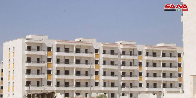 مؤسسة الإسكان بحلب: أكثر من 5 مليارات ليرة لترميم وتأهيل وإنجاز مشاريع السكن في المناطق المتضررة من الإرهاب