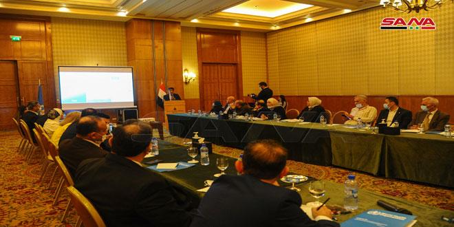 حلقة عمل حول التغطية الصحية الشاملة في سورية بمشاركة برلمانيين وممثلين عن وزارة الصحة ومنظمة الصحة العالمية