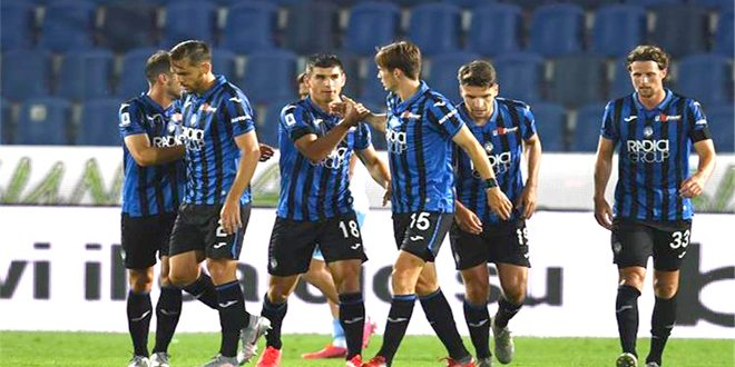 فوز أتلانتا على لاتسيو بالدوري الإيطالي لكرة القدم