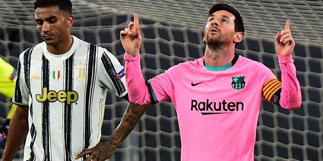 ميسي يحقق إنجازاً تاريخياً في دوري أبطال أوروبا