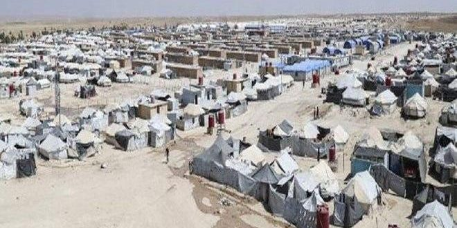 وفاة طفل جراء نقص الرعاية الصحية في مخيم الهول الواقع تحت سيطرة ميليشيا (قسد) بريف الحسكة الشرقي