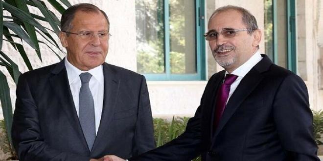 لافروف للصفدي: لا بديل من الحل السياسي للأزمة في سورية