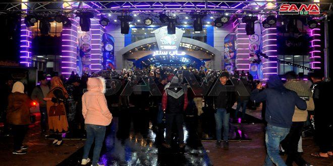 إعادة افتتاح مركز تسوق في درعا بعد تأهيله إثر تعرضه للتخريب من المجموعات الإرهابية