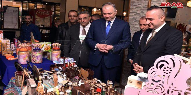 أعمالنا اليدوية رمز ثقافتنا.. معرض خيري في حلب