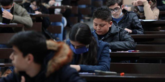 1402 طالب وطالبة يشاركون في اختبارات المرحلة الثانية من الأولمبياد العلمي السوري