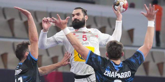 فوز كاسح لإسبانيا على الأوروغواي في بطولة العالم لكرة اليد