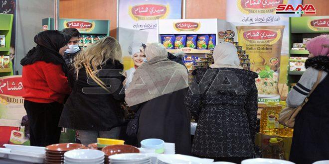 بمشاركة 135 شركة صناعية انطلاق الدورة الـ 112 من مهرجان التسوق الشهري بصالة الجلاء بدمشق