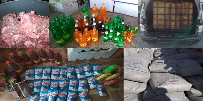 تنظيم 127 ضبطاً تموينياً بحق فعاليات تجارية مخالفة في حمص
