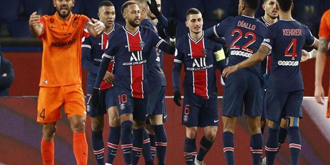 باريس سان جيرمان يهزم مونبيلييه في الدوري الفرنسي