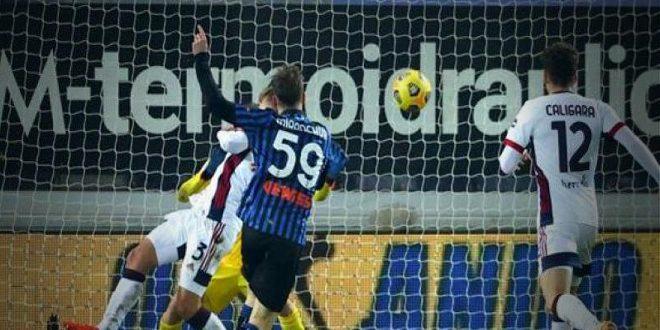 أتلانتا يهزم كالياري بثلاثية في كأس إيطاليا