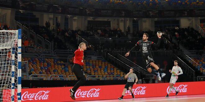 منتخب مصر يفوز على نظيره البيلاروسي في مونديال اليد