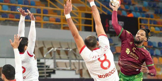 البرتغال تفوز على المغرب وتتأهل للدور الثاني لمونديال اليد في مصر