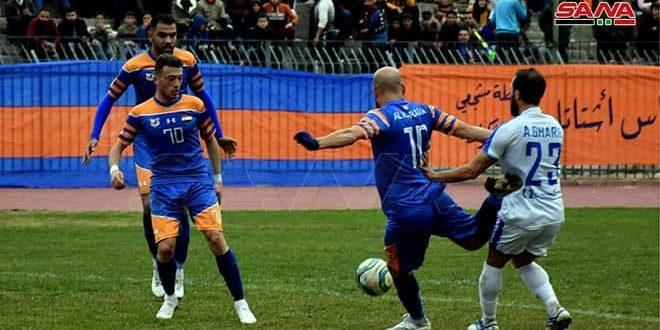 بنهاية الجولة 12 من الدوري الممتاز لكرة القدم.. الكرامة يبقى في الصدارة والجيش يشارك تشرين الوصافة