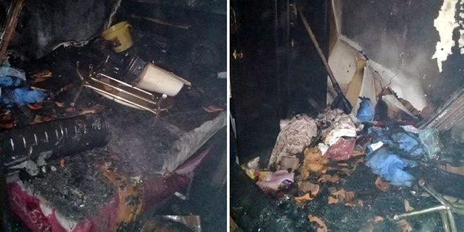إخماد حريق ضمن منزل في المزة بدمشق والأضرار مادية