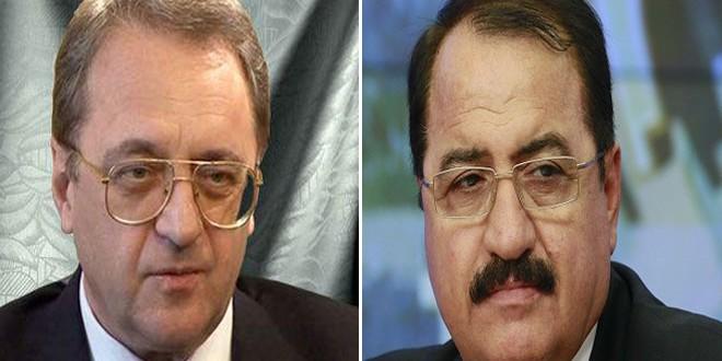 بوغدانوف يبحث مع السفير حداد الحل السياسي للأزمة في سورية
