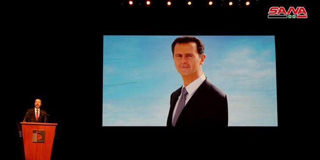 في رسالة إلى الرياضة السورية في عيدها الذهبي.. الرئيس الأسد: الرياضيون تحدوا الحرب والحصار ورفعوا اسم سورية عالياً