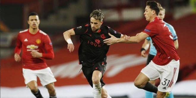 يونايتد يتعادل مع ريال سوسيداد في الدوري الأوروبي