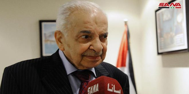 وفاة السفير الفلسطيني بدمشق