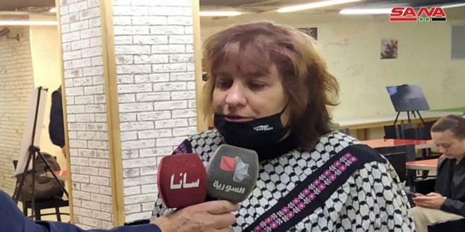 برلمانية روسية سابقة: إجراء الاستحقاق الانتخابي الرئاسي تعبير عن الحالة الديمقراطية التي تعيشها سورية