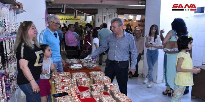 سوق المهن اليدوية على كورنيش طرطوس البحري.. حاضنة تصون التراث وتشجع الحرفيين على الاستمرار