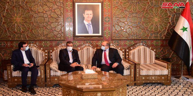 رئيس اللجنة الاقتصادية السورية الإيرانية المشتركة: زيارتي دمشق لتعزيز وتفعيل العلاقات الاقتصادية والاستثمارية بين البلدين